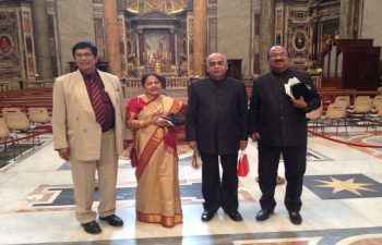 Canonisation ceremony at The Vatican