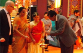 India India festival In Partnership with Travel Expo, Messe Zentrum, Luzern 31st Oct  - 2nd Nov 2014