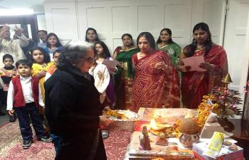 Diwali celeberations by IAB