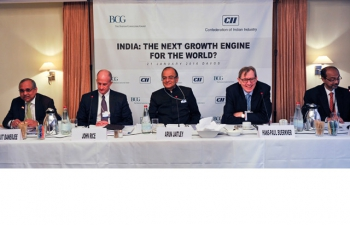Finance Minister addressing the CII BCG Breakfast Session on India - The Next Growth Engine for the World