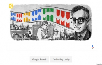INDIAN AMERICAN SCIENTIST HONORED BY GOOGLE DOODLE