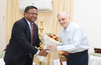 Ambassador called on Hon'ble Governor of Kerala, July 17, 2018