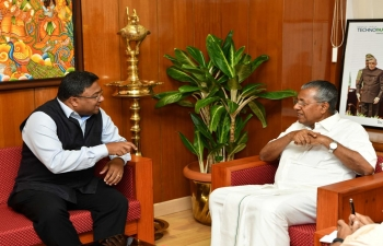 Ambassador called on Hon'ble Chief Minister of Kerala, July 20, 2018