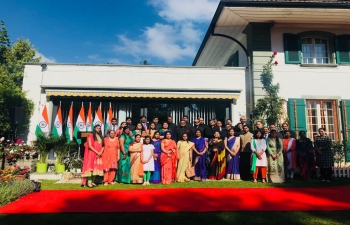 Indian Independence Day Celebrations at Embassy of India to Switzerland, The Holy See & Lichtenstein,  August 15, 2018