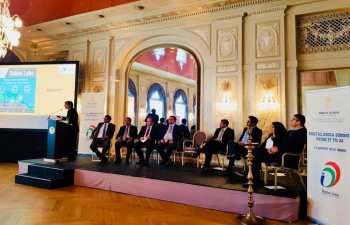 Digital India Summit- from IT to AI' in Berne, August 15, 2018