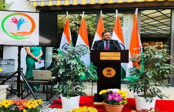 Embassy of India: Home Away from Home Reception at India House in Berne, August 28, 2018