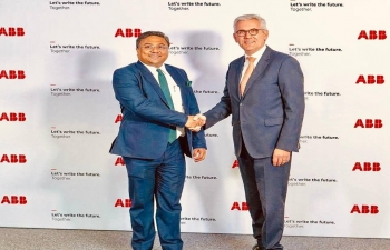 Ambassador Meeting with CEO Of ABB Group