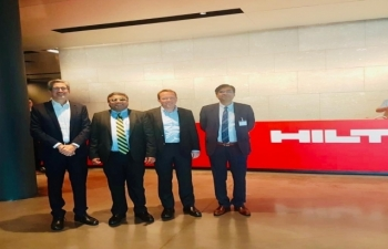 Ambassador Meeting with CEO Of Hilti Group