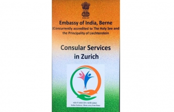 Consular services in Zurich on February 2nd 2019