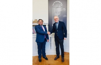 Ambassador's meeting with director of the National museum of Switzerland in Zurich on February 7th 2019