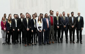 MEETING OF AMBASSADOR WITH UNIVERSITY OF APPLIED SCIENCES (FHNW) AT  OLTEN