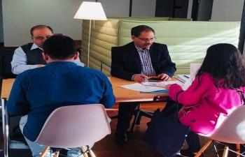 CONSULAR SERVICES IN ZURICH ON 16th FEB