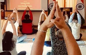 Yoga in Geneva on February 16th 2019