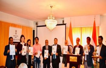 Release of ayurveda bulletin in Geneva on February 16th 2019