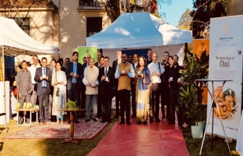 Exploring Indian a tea in Switzerland in Berne on February 27th 2019