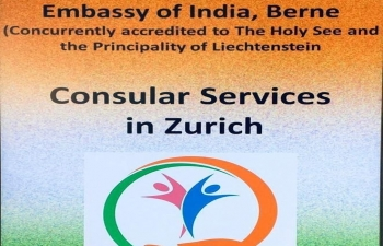 CONSULAR SERVICES IN ZURICH ON MARCH 2nd