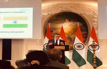 India Switzerland educations cooperation in Bern on February 28th 2019