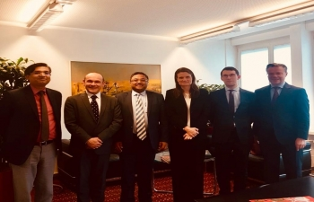 Ambassador's meeting with State Secretariat for education, research and innovation SERI) in Bern on March 13th 2019