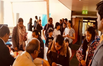 Consular services in Zurich on March 16th 2019