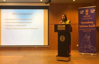 """'How to become an Indian Diplomat: Introduction to Indian Civil Service Examination"""" in Laussane on March 16th 2019"""