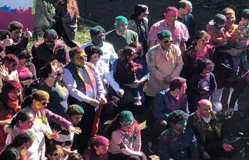 Holi Celebration in Bern on March 23rd 2019