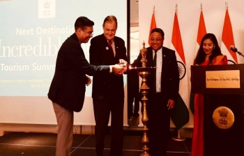 Inauguration of 'Next Destination Incredible India' in Bern on 19th March 2019