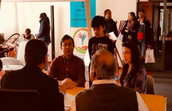 Consular services and yoga session in Zurich on April 6th 2019