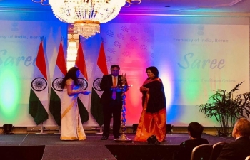 """""""Saree-Traditional Costume of India' show held in Bern on March 19th 2019"""