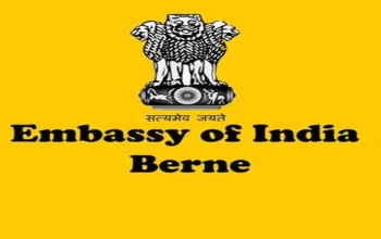 Embassy of India, Berne invites applicants for the post of Clerk (Full time)