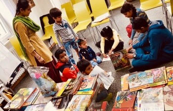 Thematic library theme : Bringing India's epics to life in Switzerland