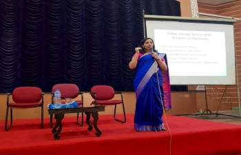 Expanding outreach at Kerala, on April 25, 2019