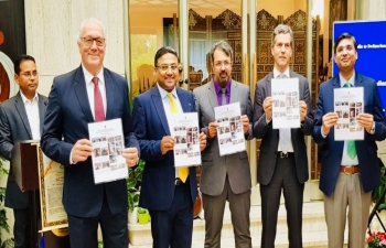 Release of fifth ayurveda bulletin in Berne on May 4th, 2019
