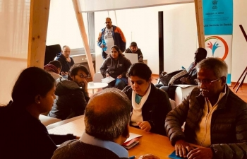 Consular services in Zurich on May 4th 2019