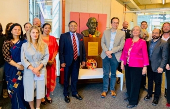 Celebrating birth anniversary of Gurudev Tagore in Lausanne on May 7th ,  2019