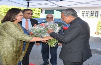 Visit of Kerala Chief Minister in Berne on 14th May 2019