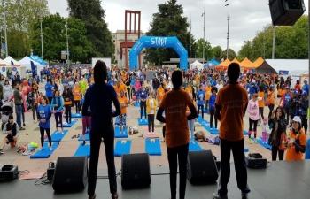 Yoga in Geneva on May 19th 2019