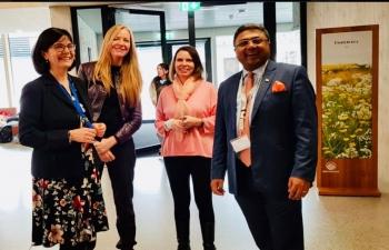 Ambassador presented books to International School of Berne on May 21st 2019