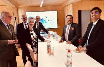 Ambassador's meeting with President of Canton of Zürich in Zürich on May  23rd 2019