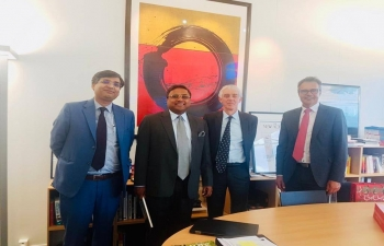 Ambassador's meeting with President of EPFL in Lausanne on May 27th 2019