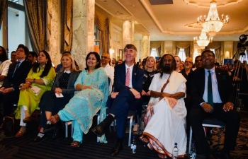 Celebrating Mahatma Gandhi in Switzerland: Talk by Gurudev Sri Sri Ravi Shankar  in Bern on June 6th 2019