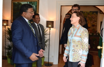 Ambassador's meeting with HE Mme Pascale Baeriswyl, State Secretary, Federal  Department of Foreign Affairs at Berne on June 25th 2019
