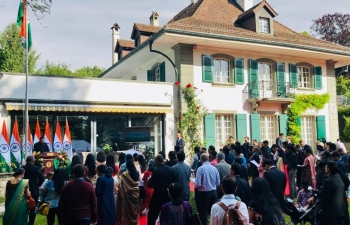 INDEPENDENCE DAY CELEBRATIONS IN SWITZERLAND ON 15.08.2019