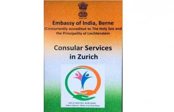 CONSULAR SERVICES IN ZURICH ON 17.08.2019