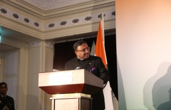 Visit of Hon'ble President of India to Switzerland, September 11-15, 2019 : Photographs (2/2) of Reception attended by Indian Diaspora and Friends of India on September 12, 2019 at Hotel Bellevue Palace, Berne.