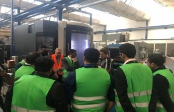 State Visit of Hon'ble President of India to Switzerland, September 11-15, 2019: Photographs of Indian Business Delegation's visit to Schindler at Ebikon on September 13, 2019