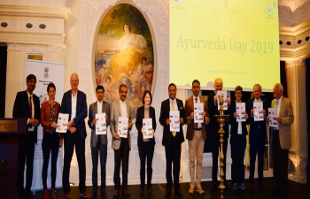 RELEASE OF AYURVEDA BULLETIN IN SWITZERLAND ON Oct 25