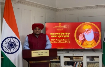 550th Birth Anniversary celebrations of Guru Nanak Dev Ji on Nov 12th, 2019