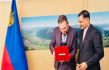 INDIA - LIECHTENSTEIN CONSULAR MEETING