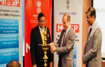 Inauguration of MISSP 2.0 (Momentum in India - Swiss SME's) workshop in Bern on Nov 27