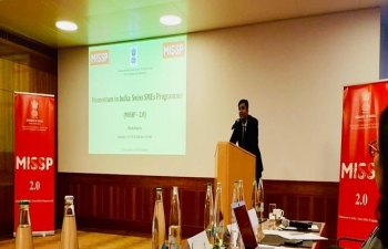 MISSP 2.0 (Momentum in India- Swiss SMEs Program) Workshop in St. Gallen on Dec 2nd 2019.